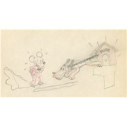 Original production drawing from The Mad Doctor