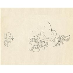 Original production drawing from Mickey's Gala Premiere