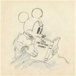 Original production drawing from Mickey Plays Papa