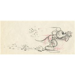 Pair Of original production drawings from Mickey's Garden