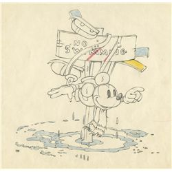 Original production drawing from On Ice