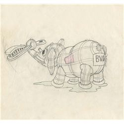Original production drawing from Broken Toys