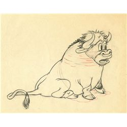 Original production drawing from Mickey's Rival