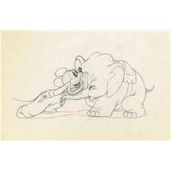 Original production drawing from Mickey's Elephant