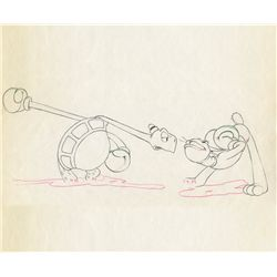 Original production drawing from Toby Tortoise Returns