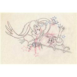 Original production drawing from Alpine Climbers
