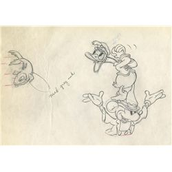 Original production drawing from Mickey's Circus