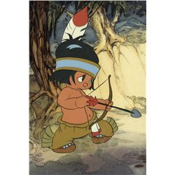 Original production cel from Little Hiawatha