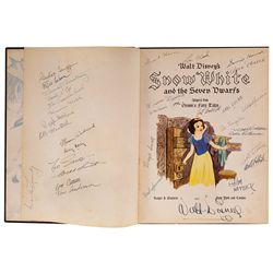 The most important copy of Disney's Snow White book in existence