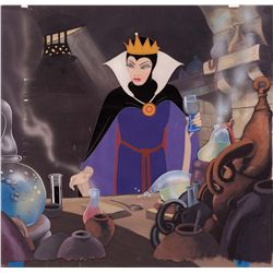 Original production cel of the Queen from Snow White and the Seven Dwarfs