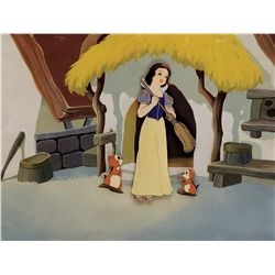 Original model cel from Snow White and the Seven Dwarfs