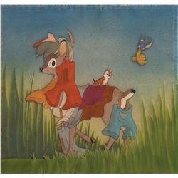 Original production cel from Snow White and the Seven Dwarfs