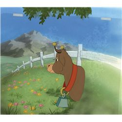 Original production cel from Ferdinand the Bull