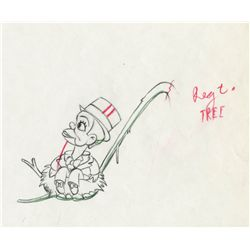 Pair of original production drawings from Mother Goose Goes Hollywood