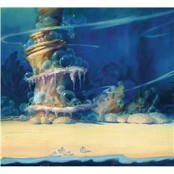 Original production background from Merbabies