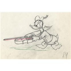Original production drawing from The Autograph Hound