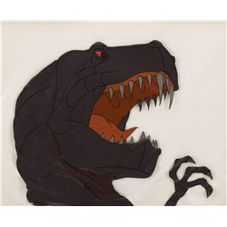 T-Rex production cel from Fantasia