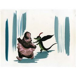 """Original concept art from """"Dance of the Hours"""" Sequence Fantasia"""