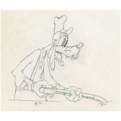 Original production drawing from Tugboat Mickey