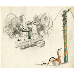 Original concept drawing from Dumbo
