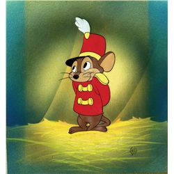 Original production cel of Timothy from Dumbo