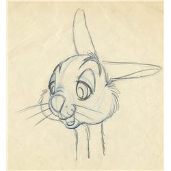 Original production drawing from Bambi