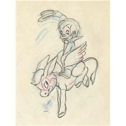 Original production drawing from The Three Caballeros