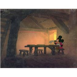 """Original production model cel of mickey mouse from """"Mickey and the Beanstalk"""""""