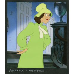 Two original production cels of Anastasia and Drizella from Cinderella