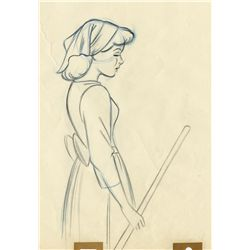 Original production drawing from Cinderella