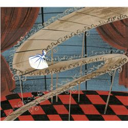Mary Blair original concept painting from Cinderella