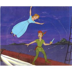 Original production cels from Peter Pan