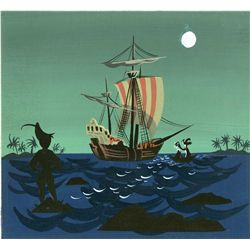 Mary Blair original concept painting from Peter Pan