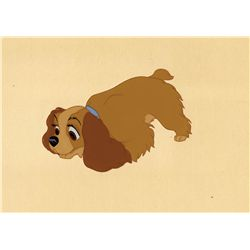 Lady production cel from Lady and the Tramp