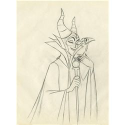 Original production drawing from Sleeping Beauty