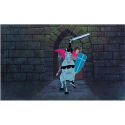 Original production cel and production background from Sleeping Beauty