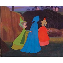 Original production cel from Sleeping Beauty