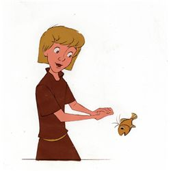 Original production cels from The Sword in the Stone