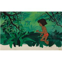 Original production cel of Mowgli from The Jungle Book