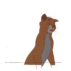 Original production cel from The Aristocats