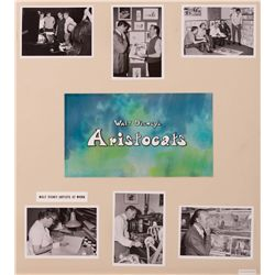 6 presentation boards featuring Ken Anderson concepts and artwork from The Aristocats