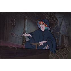 Original production cel and production background from The Rescuers