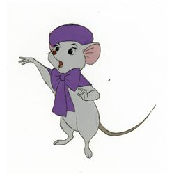 Original production cel from The Rescuers