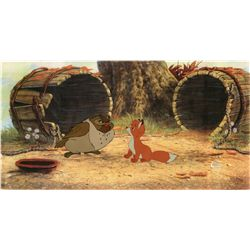 Original production cel from The Fox and the Hound