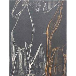 "Marino Marini ""Acrobat With Two Horses"""