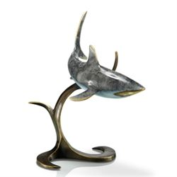 Shark Bronze Sculpture