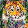 Hand Signed Neiman &quot;Tiger&quot;
