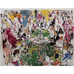 "Hand Signed Neiman ""Game Of Life"""