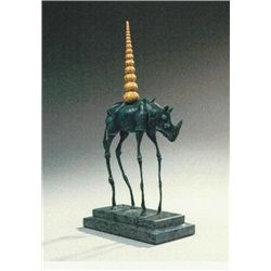 "Dali ""Rhinoceros Cosmique"" Orig. Ltd. Ed. Bronze"