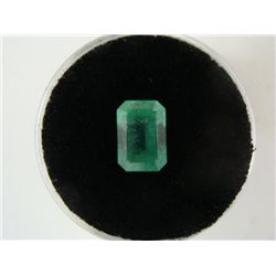 Bright Glowing Green 2.00 Carat Emerald Gemstone